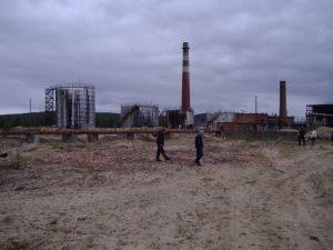Площадка до начала строительства