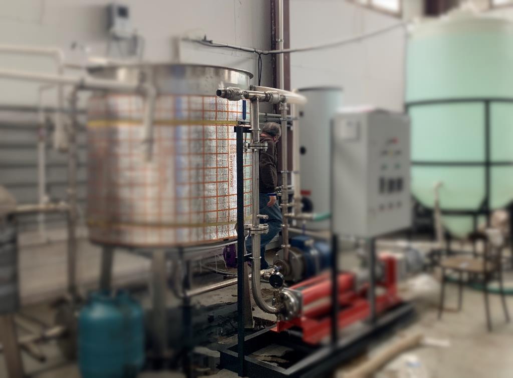 Статический реактор в составе установки